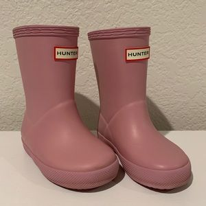 Hunter Boots for toddler - Blossom Pink
